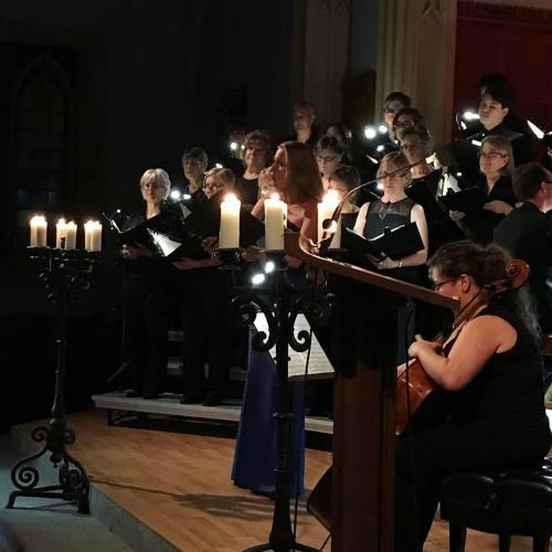 Alto solo in Durufle Requiem, Rideau Chorale, Ottawa