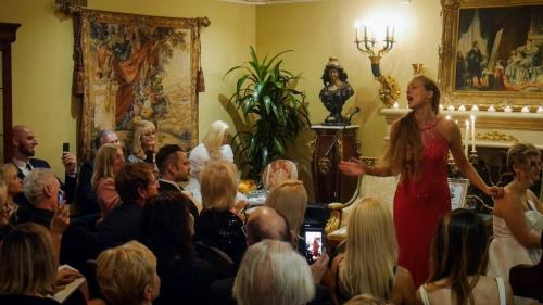 Recital for the L.A. Modjeska Club with Basia Bochenek