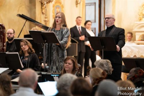 "Performing alto solo in Kilar's ""Missa Pro Pace"" with Chicago Philharmonic"