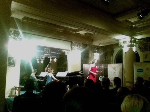 Recital in Belgrade's Guarnerius Hall with Nada Kolundzija