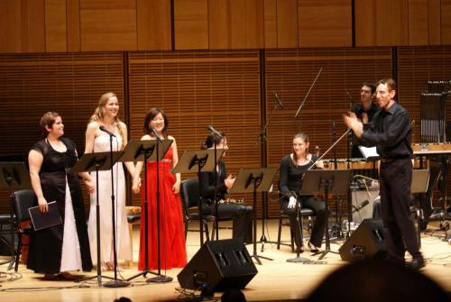 "Carnegie Hall debut singing 'the Virgin' in Paola Prestini's ""Oceanic Verses"""