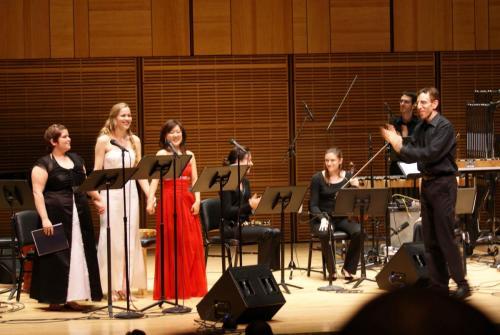 "Carnegie Hall debut singing 'the Virgin' in Paola Prestini's ""Oceanic Verses"""