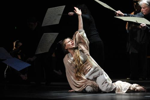 "Isabelle Eberhardt in the world premiere of Missy Mazzoli's ""Song From The Uproar"""