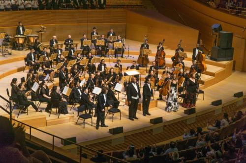 Walt Disney Hall debut: alto soloist in Beethoven's 9th Symphony