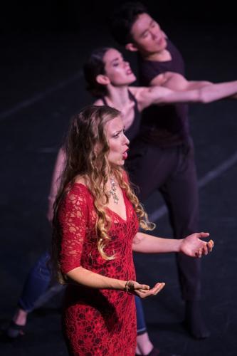 "Saint-Saens' ""Mon Coeur s'ouvre a ta voix"" with Dream Orchestra LA, for the Petra Conti Show"