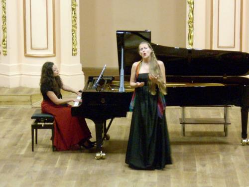 Recital at Lviv Philharmonic with Marianna Humetska, Ukraine