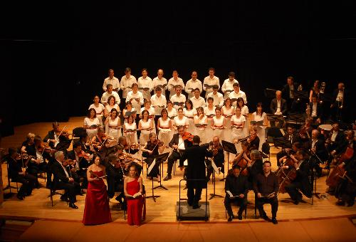 Mozart Requiem at Cartagena International Music Festival, City of London Sinfonia