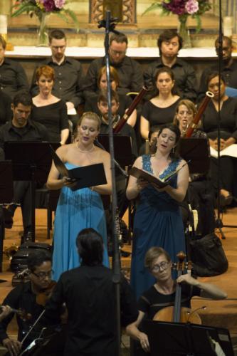 Performing Mezzo-Soprano Solo in Bach's Mass in B Minor, Festival Mozaic