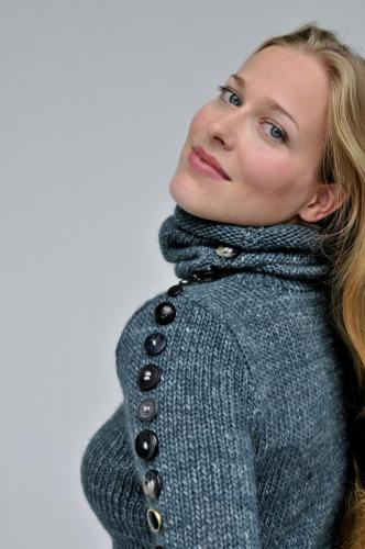 Photographed by Marco Badiani, as the spokesmodel for Betta Knit Be Kind, Italy